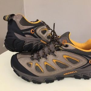 Merrell Brindle Boulder Hiking Shoes Men's Sz 8.5